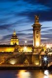 Ponte de Alexandre III Fotos de Stock