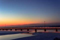 Ponte de Amur Imagem de Stock Royalty Free