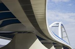 Ponte de Apollo em Bratislava, Slovakia Foto de Stock Royalty Free