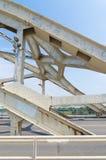 Ponte de arco de aço Foto de Stock Royalty Free