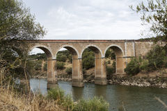 Ponte de Ardilla in Portugal Stockfoto