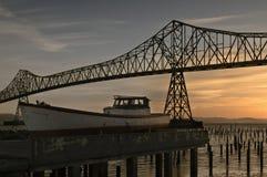 Ponte de Astoria foto de stock