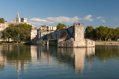 A ponte de Avignon, France Foto de Stock Royalty Free