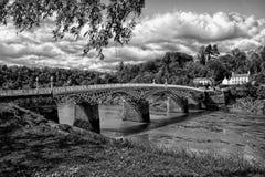Ponte de B&W Foto de Stock