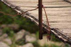 Ponte de balanço Foto de Stock Royalty Free