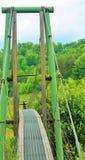 Ponte de balanço de Kentucky imagens de stock royalty free