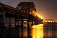 Ponte de Banghwa Imagem de Stock