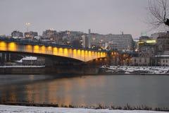 Ponte de Begrade - de Branko Fotografia de Stock Royalty Free
