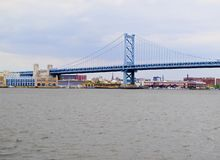 Ponte de Ben Franklin Imagens de Stock Royalty Free