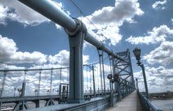 Ponte de Ben Franklin Fotografia de Stock