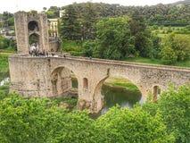 Ponte de Besalu Imagens de Stock Royalty Free