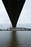 Ponte de Bhumibol foto de stock