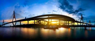 Ponte de Bhumibol Imagens de Stock