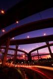Ponte de Bhumibol, Banguecoque Fotografia de Stock Royalty Free