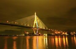 Ponte de Bhumibol, Banguecoque, Tailândia Fotos de Stock