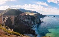 A ponte de Big Sur Fotografia de Stock Royalty Free