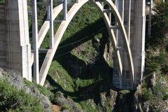 Ponte de Bixby em Sur grande Fotos de Stock Royalty Free