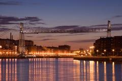 Ponte de Bizkaia fotos de stock