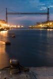 Ponte de Bizkaia Foto de Stock