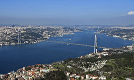 Ponte de Bosphorus Fotos de Stock