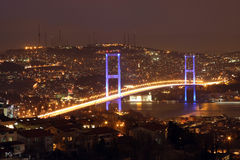 Ponte de Bosphorus Fotografia de Stock Royalty Free