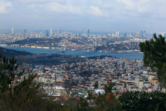 A ponte de Bosphorus Foto de Stock