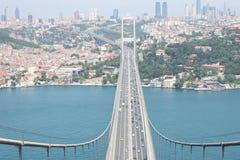 Ponte de Bosphorus Fotografia de Stock Royalty Free