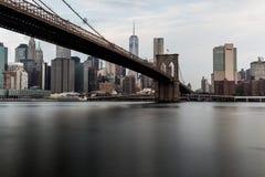 Ponte de Brookly, New York fotos de stock