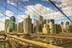 Ponte de Brooklyn Imagens de Stock Royalty Free