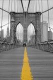 Ponte de Brooklyn Fotografia de Stock
