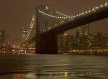 Ponte de Brooklyn Imagem de Stock Royalty Free