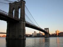 A ponte de Brooklyn Fotos de Stock Royalty Free