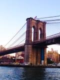 A ponte de Brooklyn Foto de Stock