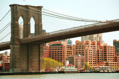 Ponte de Brooklyn Foto de Stock