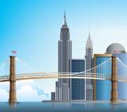 Ponte de Brooklyn New York Fotografia de Stock