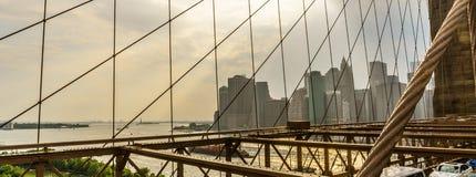 Ponte de Brooklyn New York Imagem de Stock