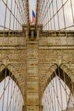 Ponte de Brooklyn New York Fotos de Stock Royalty Free