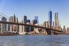 Ponte de Brooklyn, New York City Imagens de Stock Royalty Free