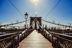 Ponte de Brooklyn, New York City Imagens de Stock