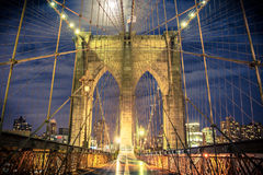 Ponte de Brooklyn New York City Fotografia de Stock Royalty Free