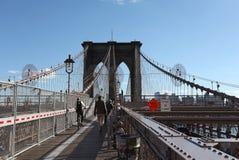 Ponte de Brooklyn, New York City, EUA imagem de stock royalty free