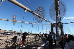 Ponte de Brooklyn, New York City, EUA imagens de stock royalty free