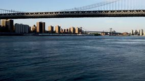 Ponte de Brooklyn no East River, New York City filme