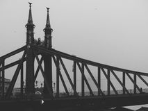 Ponte de Budapest fotos de stock royalty free