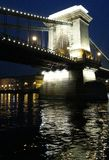 Ponte de Budapest Fotografia de Stock Royalty Free