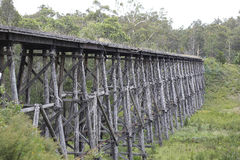 A ponte de cavalete de Stony Creek imagens de stock royalty free