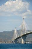 Ponte de Charilaos Trikoupis fotos de stock