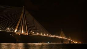 Ponte de Charilaos Trikoupis, Patra, Grécia vídeos de arquivo