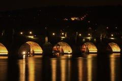 Ponte de Charles em Praga, república checa Foto de Stock