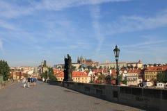 Ponte de Charles na república checa de Praga fotos de stock royalty free